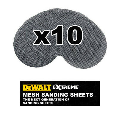 DeWalt DTM3117-QZ Mesh Sanding Discs 125mm 240G Pack of 10
