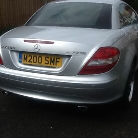 Regretfully selling my slk just fitted new wheels and tyres