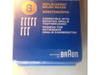 8 pack oral b replacement toothbrush heads