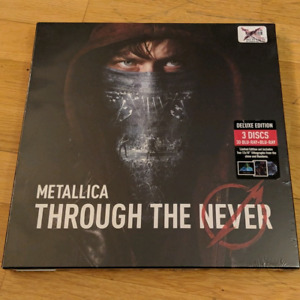 Metallica Through the Never deluxe 3D BluRay sealed