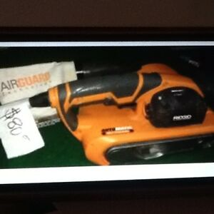 Rigid Belt Sander with Airguard $79 at Great Pacific Pawnbrokers