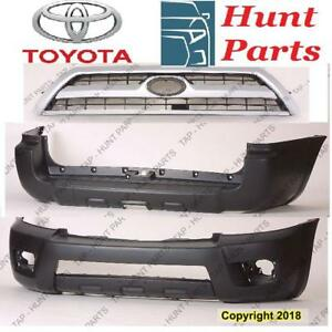 Toyota 4Runner 2006 2007 2008 2009 Absorber Front Rear Bumper Bracket Filler Retainer Mounting Cover Grille Lower