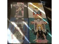 Manga Death Note 1-4 excellent condition