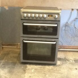 Hotpoint fan assisted double oven with grill