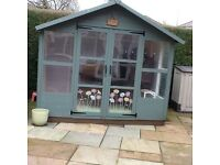 Free summerhouse needs dismantling and taking away,under 2 years old