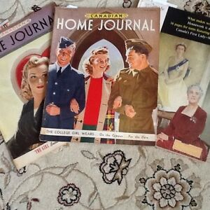 Vintage Canadian Home Journal (2 from  + 1960 Chatelaine