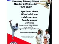 Swavesey Tang Soo Do Martial arts classes