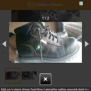 Very Good Condition steel toed shoes Kitchener / Waterloo Kitchener Area image 1