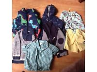 BOYS BUNDLE 9-12 MONTHS INCLUDES NEXT AND TED BAKER