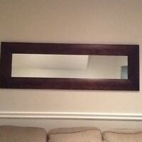 Solid wood mirror for sale
