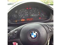 Excellent condition gold BMW 318 se coupe, alloys, 6 cd changer, parking sensors