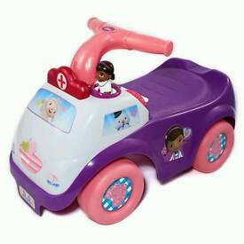 Doc mcstuffins ride on