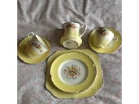 Vintage China-'tea for two'