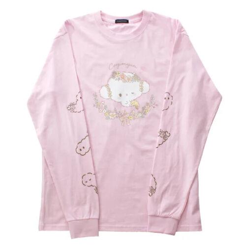 ☁️Sanrio Cogimyun🍤 Long T-shirt Pullover Sweatshirts Pink Unisex yume kawaii