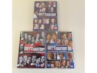 Grey's Anatomy. 3 DVDs..season 6,7,and8
