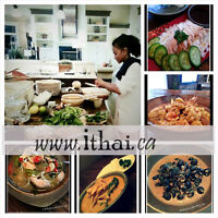 THAI COOKING CLASSES IN YOUR HOME!
