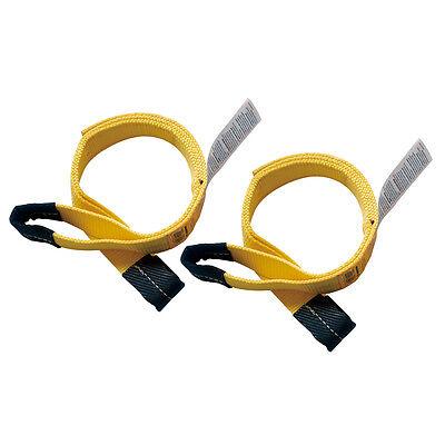 2 X 6 Nylon Lifting Sling Eye Eye 2 Ply. Sold In Pair