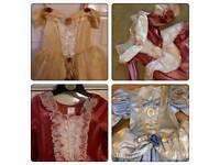 4 Disney Princess Dresses