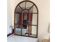 Large arch mirror; classic piece for hall, lounge, anywhere!