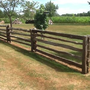 Split Cedar Rails for Sale