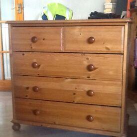Quality Durham pine drawers