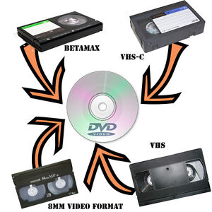 Transfer your VHS, Hi8 & other to DVD $7 / 2hr tape Peterborough Peterborough Area image 2