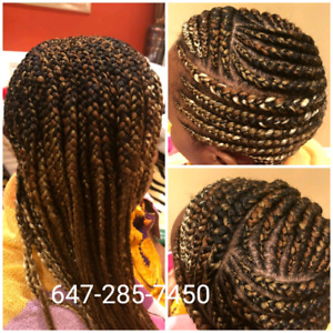 Braids and weaves services