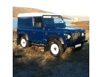 Landrover Defender 2001 TD5. Fab Condition . Always Garaged . Used privately. Investment.