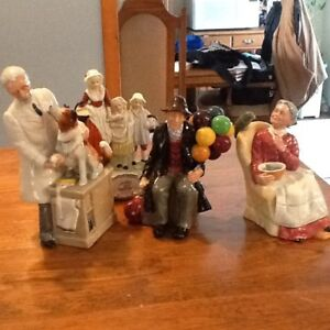 Royal Doulton Figurines Vintage Made in England