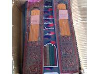 Full box of incense sticks