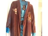 Mens designer dressing gown brand new with tags (Ed Hardy)