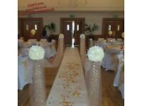 EVENT VENUE DECORATION/STYLING~WEDDING PLANNER/ORGANISER~ON-DAY CO-ORDINATION~WEDDING LOVE SOFA HIRE