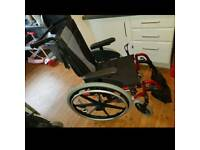 invacare action3 wheelchair