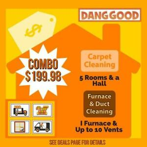 Dang Good Carpet Cleaning & Furnace Cleaning