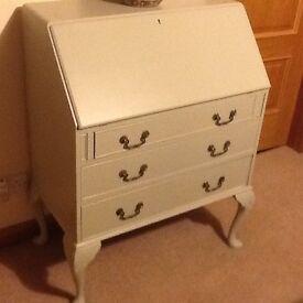 Vintage 3- Drawer Writing Bureau