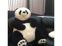 Extra large black and white panda reduced to clear 12.50