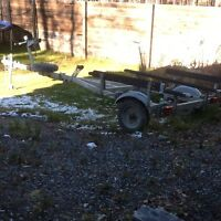 Galvanized Boat Trailer