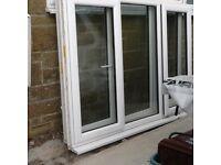 Upvc window 1.81m (w) x 1.34 (h)
