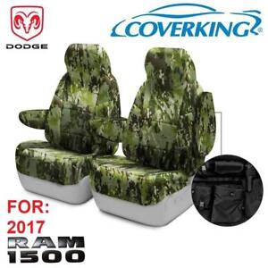 NEW TACTICAL SEAT COVER FOR RAM CTSCMC4-RM1098T 211320661 COVERKING CAMO FRONT CAR SEAT COVERS