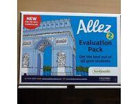 Allez 2 Evaluation pack- Student & Teacher's book, dictionary
