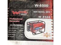 Professional petrol generator brand never used