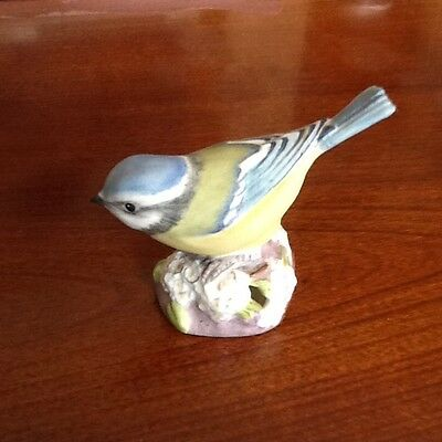 Royal Worcester Blue Tit Bird (3199)