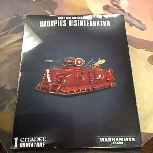 Skorpius Disintegrator Adeptus Mechanicus 40K Warhammer Sealed