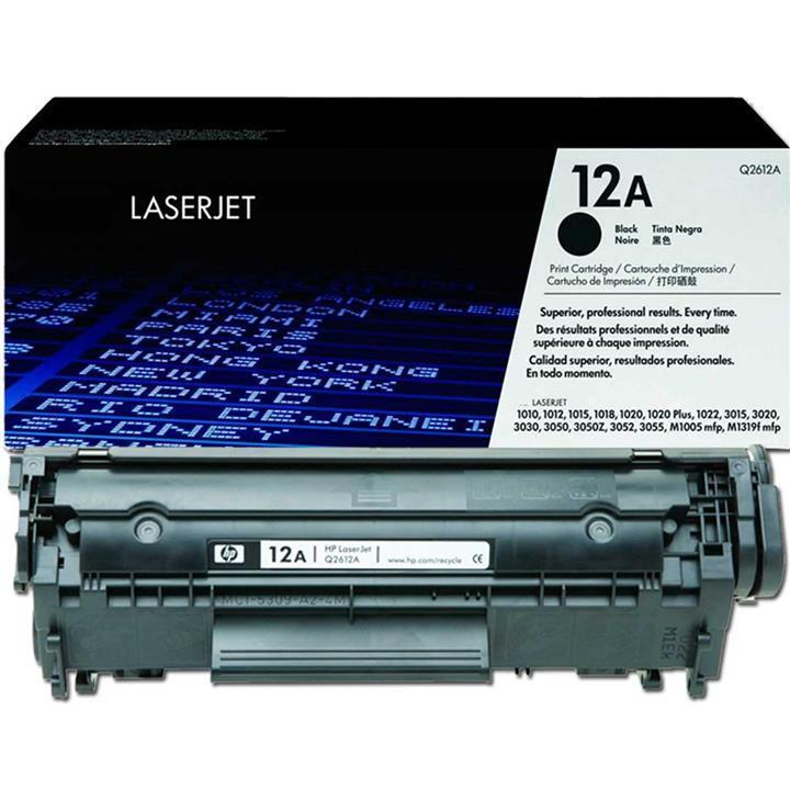 HP Laserjet 12A Print Cartridge Black Q2612A