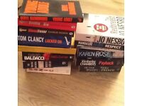 14 books Crime and thriller mixed authors collection