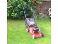 Champion petrol lawnmower 41 cm cut with Briggs and Stratton 2.5 hp engine