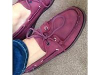 New sebago spinnaker (size 9) boat shoes