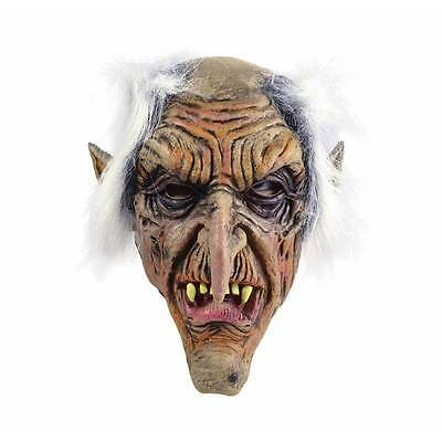 GOBLIN Old Man Gnome Rubber Horror Scary Mask Fancy Dress Halloween (Gnome Maske)