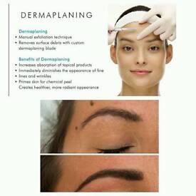 Expert brows Dermaplaning facials