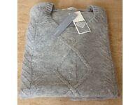 Ladies grey wool jumper